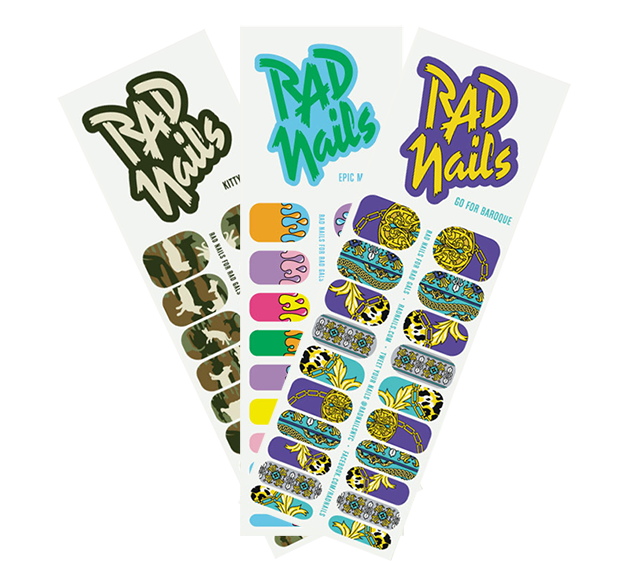 cartelas rad nails