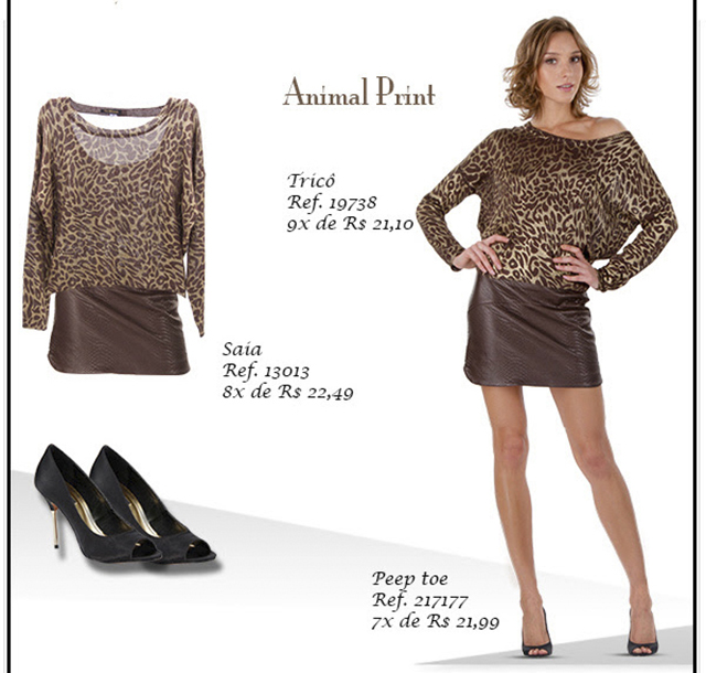 outono fashion ah animal print