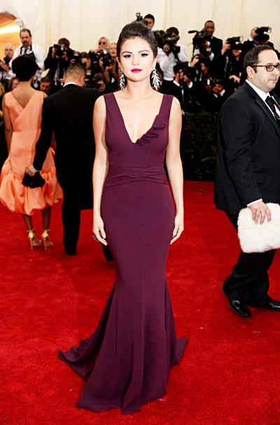 Red Carpet MET 2014 Selena Gomez